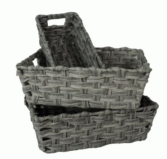 Grey Woven Baskets  main image