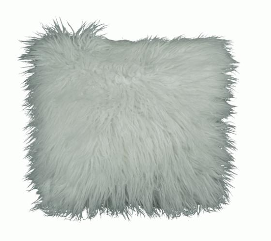 Ivory Faux Fur Pillow main image