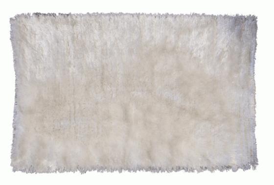 White Bathmat Rug 3'9x2'6 main image