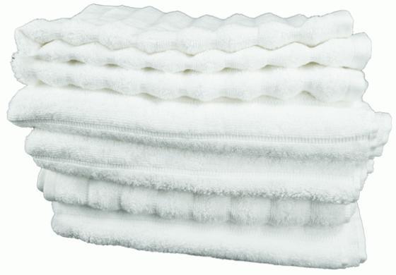 White Bath Towel Set  main image