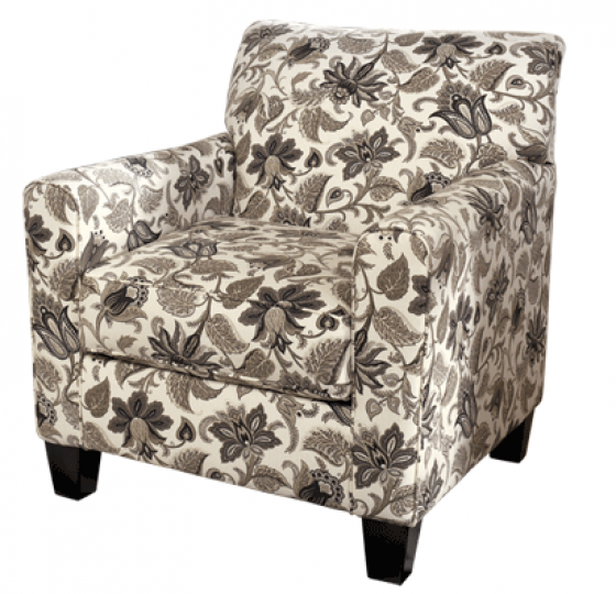 Floral Sepia Accent Chair  main image