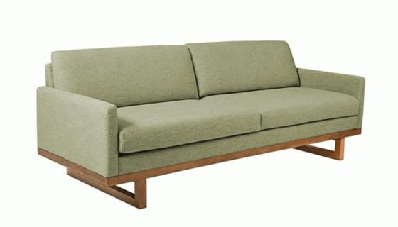 Metro Sofa Green main image