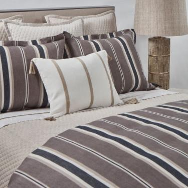 King Deck Stripe Duvet Set main image