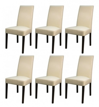 (6) Leather Chairs  main image