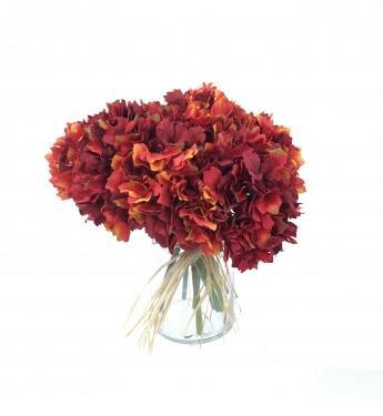 Orange Hydrangea Bouquet main image