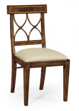 Regency Mahogany Curved Back Chair (Side) main image