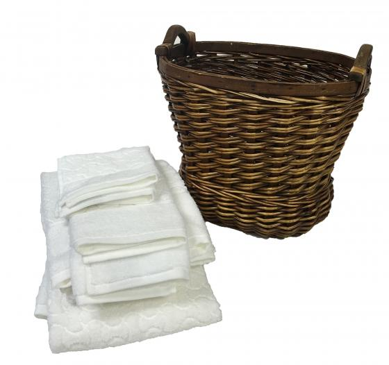 Bath Towel and Basket Set main image