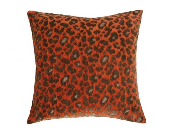 Wild Life Persimmon Pillow  main image
