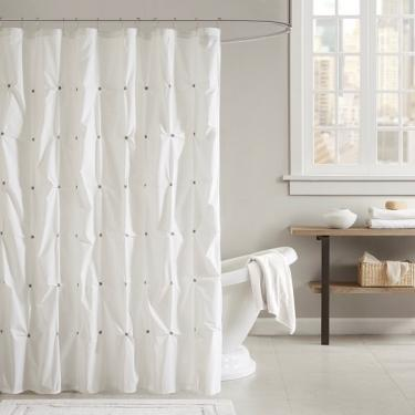 Masie Cotton Shower Curtain main image