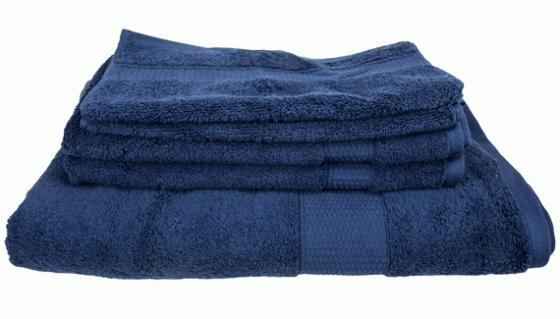 Navy Towel Set main image