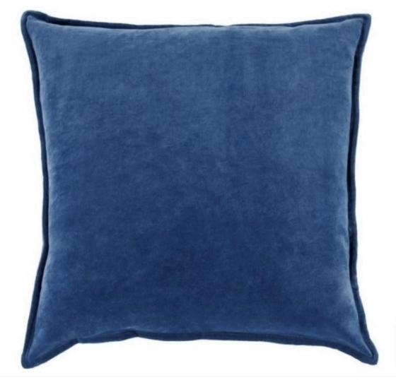 Blue Velvet Pillow main image