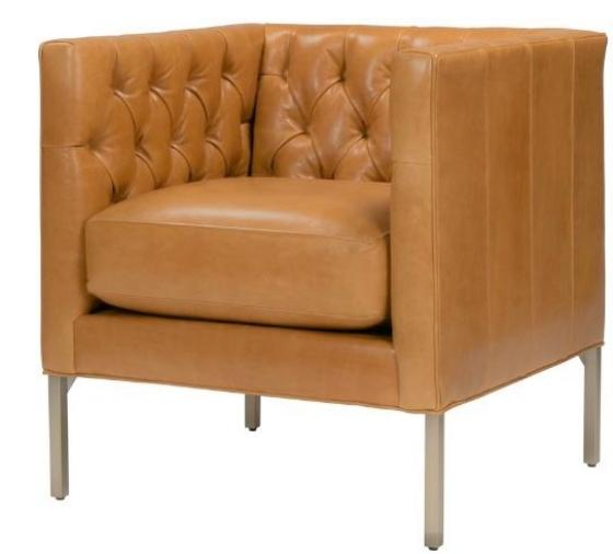 Brie Leather Chair main image
