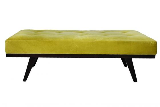 Drew Button Tufted Bench main image