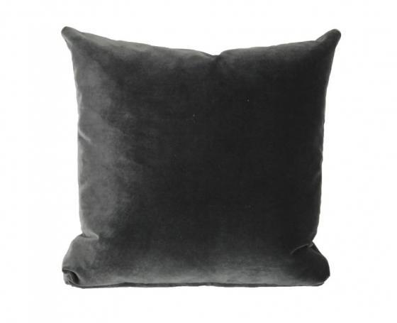 Grey Velvet Pillow main image