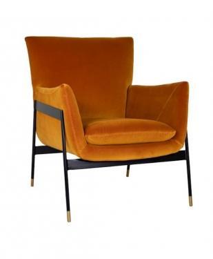 Carlo Velvet Chair main image