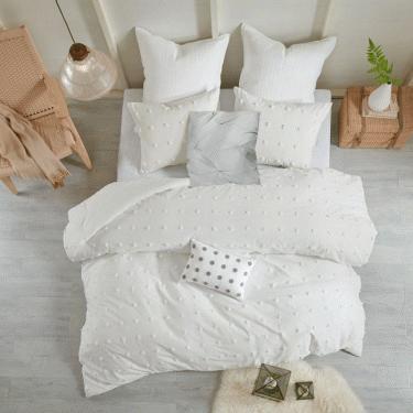 King Brooklyn Cotton Jacquard Comforter Set main image