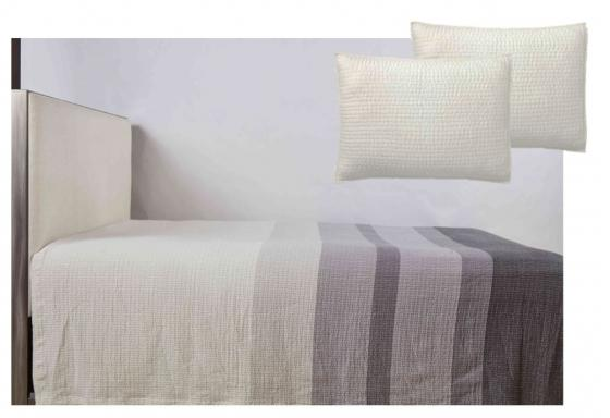 Queen Stripe Pebble Coverlet Set main image