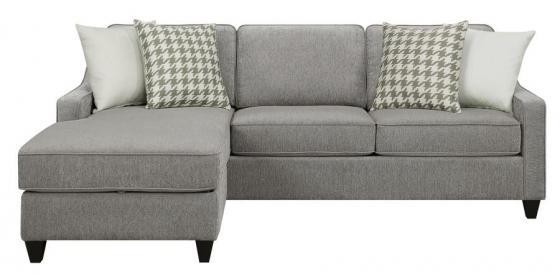 Charcoal Sofa Chaise  main image
