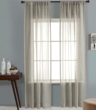 Silver Lurex Curtains Set main image