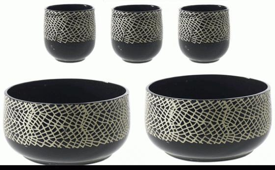 Optimist Pot and Bowl Set main image