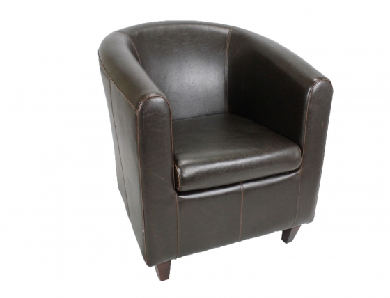 Brown Leather Chair also matches 10067 main image