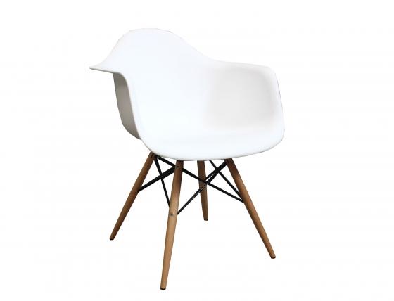 Eiffel Molded White Chair main image