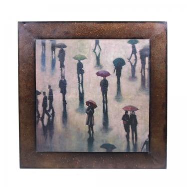34x34 Rainy Day Framed Art main image