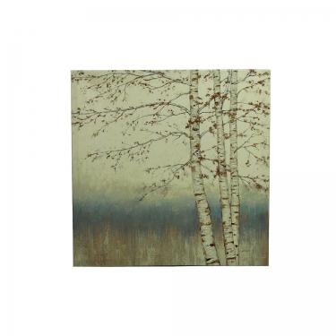 24x24 Japanese Tree Canvas Art main image