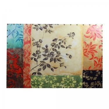 60x40 Multicolored Floral Art main image