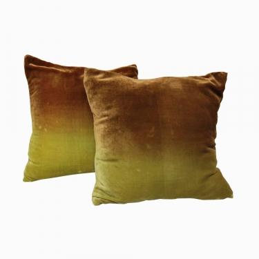 Two Tone Green Pillow Set (2) main image