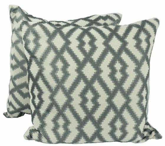 Grey Patttern Pillows main image