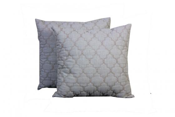 Cream w/gold design pillows (2) main image