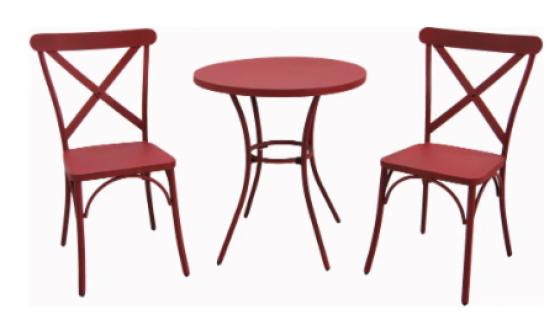 Red Bistro Set  main image