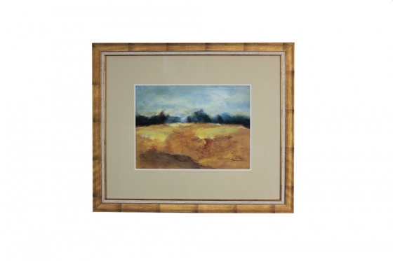 24x28 Gold Framed Landscape Art main image