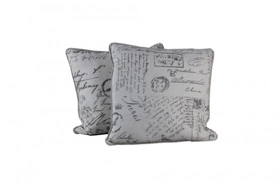 Oatmeal 'Postcard' Pillows(2) main image