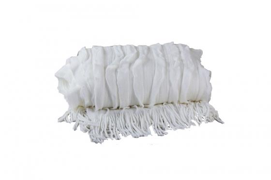 Off White Knit Throw main image