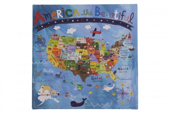 America the Beautiful Art main image