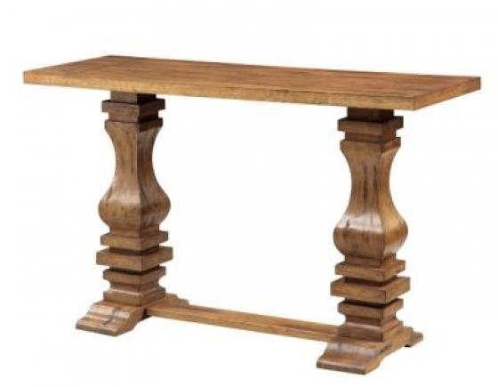 Double Pedestal Sofa Table main image