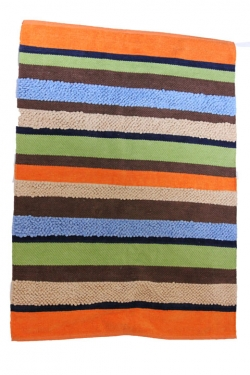 Striped Color Rug 4'x5'5 main image