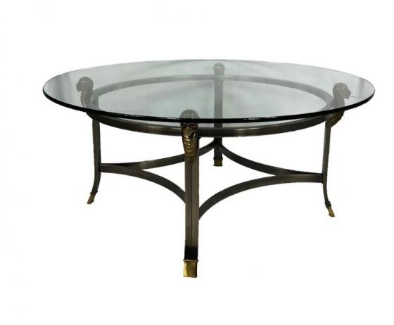 Coffee Table with Glass Top. main image
