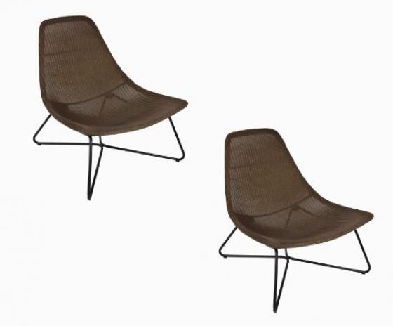 Brown Modern Rattan Chairs main image