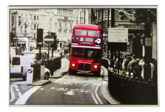 Red Bus Art main image