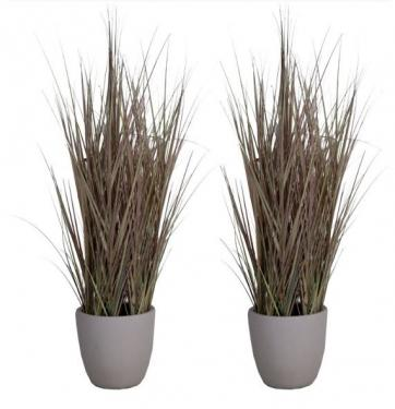 Faux Potted Sea Grass