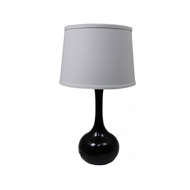 Black Lamp with Shade main image