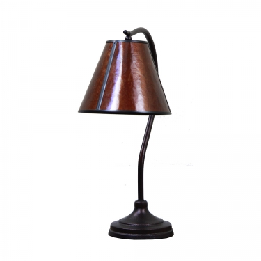 Amber Curved Table Lamp main image