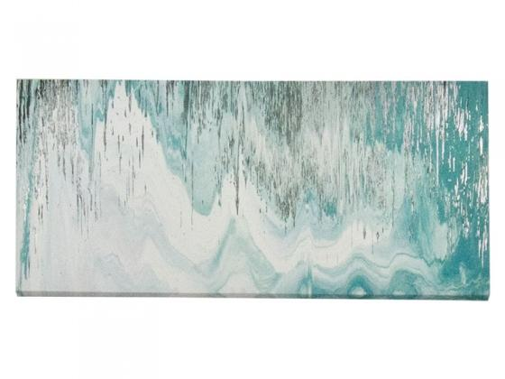 Turquoise & Silver Wall Art main image
