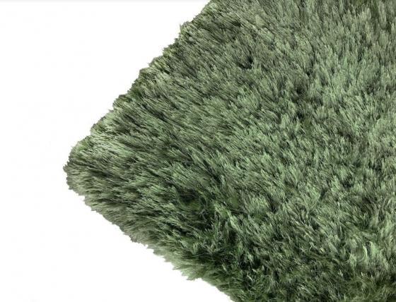 Groovy Metallic Shimmery Green Rug main image