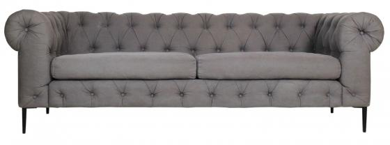 Grey Chesterfield Sofa main image