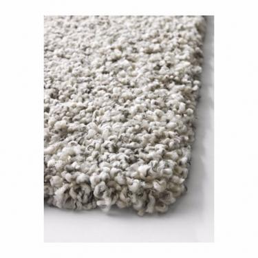 Light Grey Low Pile Rug 5x7' main image