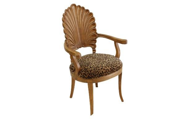 Six Cheetah-Boho Dining Chairs main image
